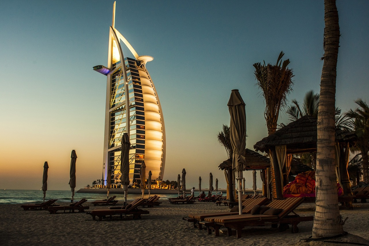 Burj Al Arab mit High Class Escort Lady